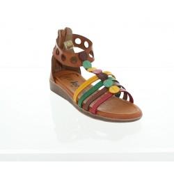 Jordana 2312 marron (cuero adorno colores)